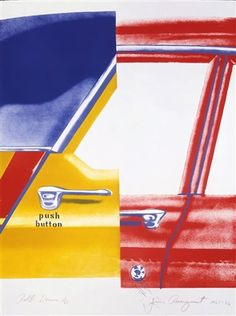 Roll Down by James Rosenquist