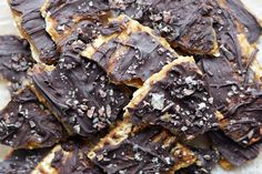 "If you celebrate Passover, you know that it's not a holiday known for delicious cuisine. Unlike the other Jewish holidays, traditional Passover food is far from colorful; if you don't know what I'm talking about, do a google image search for ""gefilite fish""- yikes! Growing up, one my family's favorite Passover desserts was chocolate-covered matzah. …"