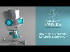 I get a lot of messages from you Fellow Scholars that you would like to get started in machine learning and are looking for materials. Below you find a ton o. Job Search, Machine Learning, Messages, Technology, Paper, Board, Youtube, Tech, Tecnologia