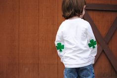 cuteness!Luck of the Irish St Patrick's Day tshirt by Onceuponastory, $20.00