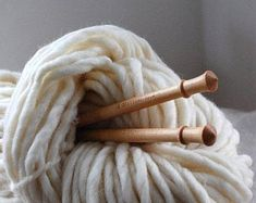 Browse unique items from WoolFinchStudio on Etsy, a global marketplace of handmade, vintage and creative goods. Wool Yarn, Merino Wool Blanket, Needles Sizes, Oslo, Fiber Art, Arts And Crafts, Diy Crafts, Swan, Knitting