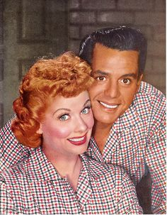 Lucy and Desi