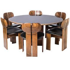"""""""Artona"""" Dining Suite by Afra and Tobia Scarpa, for Maxalto in 1975"""