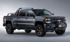 2013 Chevrolet Silverado: Black Ops und Firefighter Concept