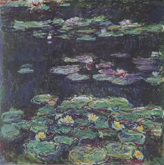 Monet Paintings: White and Yellow Water Lilies - Classic 20 X 24 - Hand Painted Canvas Art, Unframed Loose Canvas Monet Paintings, Impressionist Paintings, Landscape Paintings, Winterthur, Artist Monet, Monet Water Lilies, Classic Artwork, Art Japonais, Pierre Auguste Renoir