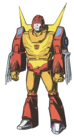 RODIMUS PRIME ALLEGIANCE: AUTOBOT FUNCTION: PROTECTOR FIRST APPEARANCE: THE TRANSFORMERS: THE MOVIE # 3