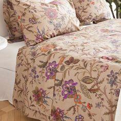 Floral Print Top Sheet - Bed Linen - Bedroom | Zara Home United Kingdom