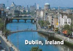 Visit Dublin and travel around Ireland en Scotland