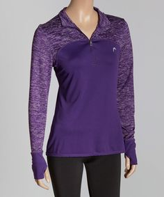 Look at this HEAD Crown Jewel High & Fast Zip-Front Pullover on #zulily today!