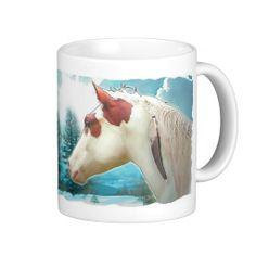Medicine Hat Horse Mug #horses #mugs #horse