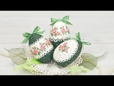 Pisanki decoupage dla początkujących - DIY tutorial - YouTube Easter Projects, Easter Crafts, Christmas Crafts, Projects To Try, Decoupage Tutorial, Diy Tutorial, Epoxy Resin Art, Easter Crochet, Egg Art