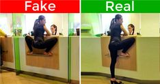 14 Popular Viral Photos That Turned Out To Be Clever Fakes Unusual Hobbies, Le Net, Posing Tips, Fake Photo, Girl With Curves, The More You Know, Brain Teasers, Rid, Clever
