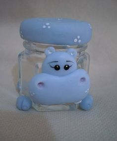 polymer clay hippo - Google Search