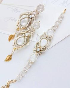 Silver Boho wedding earrings for bride, bridal earrings chandelier, boho chic soutache long bridal earrings, ivory hippie earrings, Bride Earrings, Wedding Earrings, Boho Earrings, Chandelier Earrings, Soutache Jewelry, Rhinestone Jewelry, Wedding Jewelry, Boho Wedding, Soutache Bracelet
