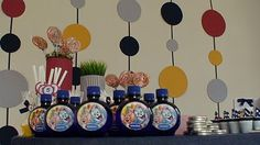JOLIE FOLIE: Festa Tom & Jerry Tom E Jerry, Birthday Parties, Toms, Party Ideas, Holiday Decor, Party, Madness, Anniversary Parties, Ideas Party