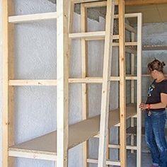 DIY - Garage : étagère et établi sur mesure