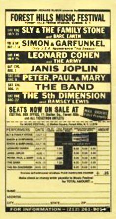 1970 Forest Hills Music Festival