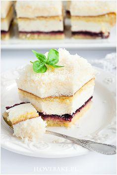 Ciasto łabędzi puch - I Love Bake Vanilla Cake, Cheesecake, Snacks, Cookies, Recipes, Food, Bakken, Crack Crackers, Appetizers
