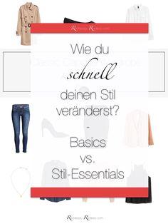 Stil schnell verändern - Welche Kleidungsstücke du zuerst kaufen solltest!