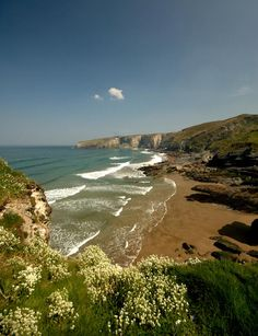 Wild and Beautiful Trebarwith Strand, Cornwall, UK