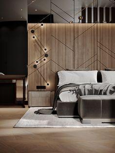 Hotel Bedroom Design, Master Bedroom Interior, Bedroom Furniture Design, Bedroom Bed, Bed Back Design, Bed Design, Bad Room Design, Smart Home Design, Modern Room