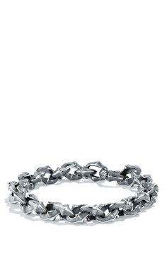 David Yurman David Yurman 'Armory' Small Link Bracelet available at #Nordstrom