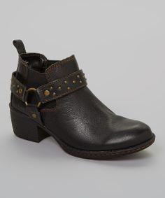 Black Claudette Ankle Boot