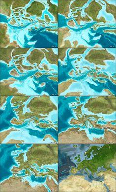 El pasado de la Tierra visto por Ron Blakey | La Cartoteca
