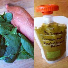Emma's Spinach & Roasted Sweet Potato