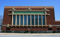 The People's Federal Savings & Loan Association, Sidney, Ohio  |  One of the nine JEWEL BOX BANKS designed for small towns across the Midwest by Louis Sullivan between 1908 and 1920.