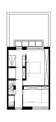 STAM architecten — Woning GOOS Floor Plans, How To Plan, Arquitetura, Home, Porches, Floor Plan Drawing, House Floor Plans