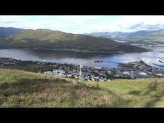Train Journey through the Scottish Highlands - YouTube