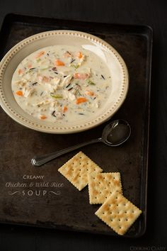 Creamy Chicken and Wild Rice Soup | Cooking Classy