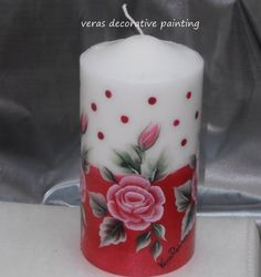 Pillar Candles, Diy Candles, Candle Making At Home, Candle In The Dark, Henna Candles, Candle Art, Diy Candle Holders, Candlemaking, Beautiful Candles