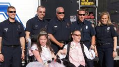 They were 'all squeals': Teens in wheelchairs get ride to prom on fire truck