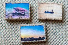Rock Art, Coasters, Cave Painting, Coaster, Stone Art, Pebble Art