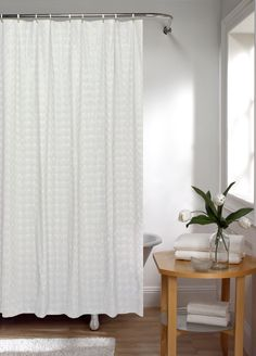 Maytex Orbit 13-Piece Shower Curtain Set
