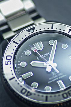 Stainless Steel Bracelet, Stainless Steel Case, Seiko Diver, Diving Equipment, 200m, Black Babies, Timeless Design, Rolex Watches, Scuba Gear