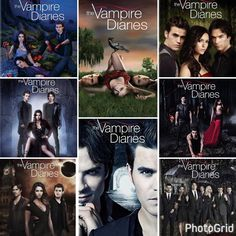 I can't believe The Vampire Diaries is actually ending! After 8 years, 8 seasons I can't believe it! I have been with the show since the beginning and I can't explain how I feel, right now. The cast is amazing, the story writers are amazing, and so much feeling all throughout the show! Love,  love, love The Vampire Diaries! #TVDForever