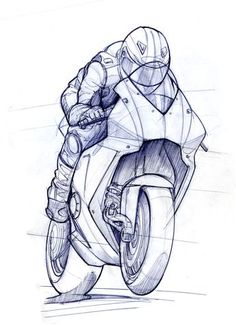 RR TTXGP zero carbon fuel Grand Prix Motorcycle - Grantham-based Evo Design Solutions was the first company to commit to the TTXGP zero carbon fuel Grand Prix. The race is to be held on the sa. Motorcycle Art, Motorcycle Design, Bike Art, Moto Bike, Bicycle Design, Car Drawings, Drawing Sketches, Drawing Faces, Cartoon Drawings
