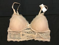 f5ecf68d6 NWT I Lumie Fancy Strappy Back Lace Bra Bralette SZ XL Variety Colors Free  SH  fashion  clothing  shoes  accessories  womensclothing  intimatessleep  (ebay ...