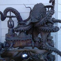 Santa Cruz CA: When you need to hide water mains pumps. Great job Santa Cruz. Very cool. #santacruz by rorynee