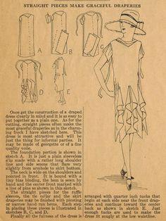 Twenties home sewing patterns.