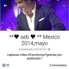 "Thanks for sharing @agnes_izambard and @caroarroyoo Repost By agnes_izambard:  Capturas video @caroarroyoo.  México  2014  Seb cantando en español  ""Cielito lindo"" ??? Gracias Caro !! (via #appskottage.com #Grab @AppKottage)"