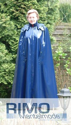 LACKCAPE Lackmantel  Regencape Raincape Raincoat Impermeable Regenmantel Fetisch