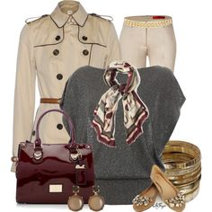 Casual Chic Fall Style, created by kginger on Polyvore