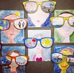 Sunglasses Kunst in der Grundschule: Sonnenbrillen The post Sunglasses appeared first on School Ideas. Spring Art, Summer Art, Summer Dream, School Art Projects, Art School, Art Lessons Elementary, Elementary Schools, Arte Elemental, Classe D'art