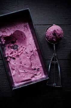 black raspberry iced cream