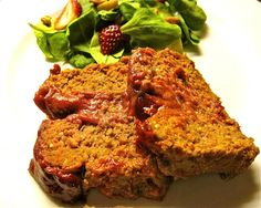 Organic Meatloaf Recipe - Whole Lifestyle Nutrition | Organic Recipes | Holistic Recipes  Can be dairy and gluten free