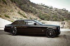 #black on #black Rolls Royce Phantom